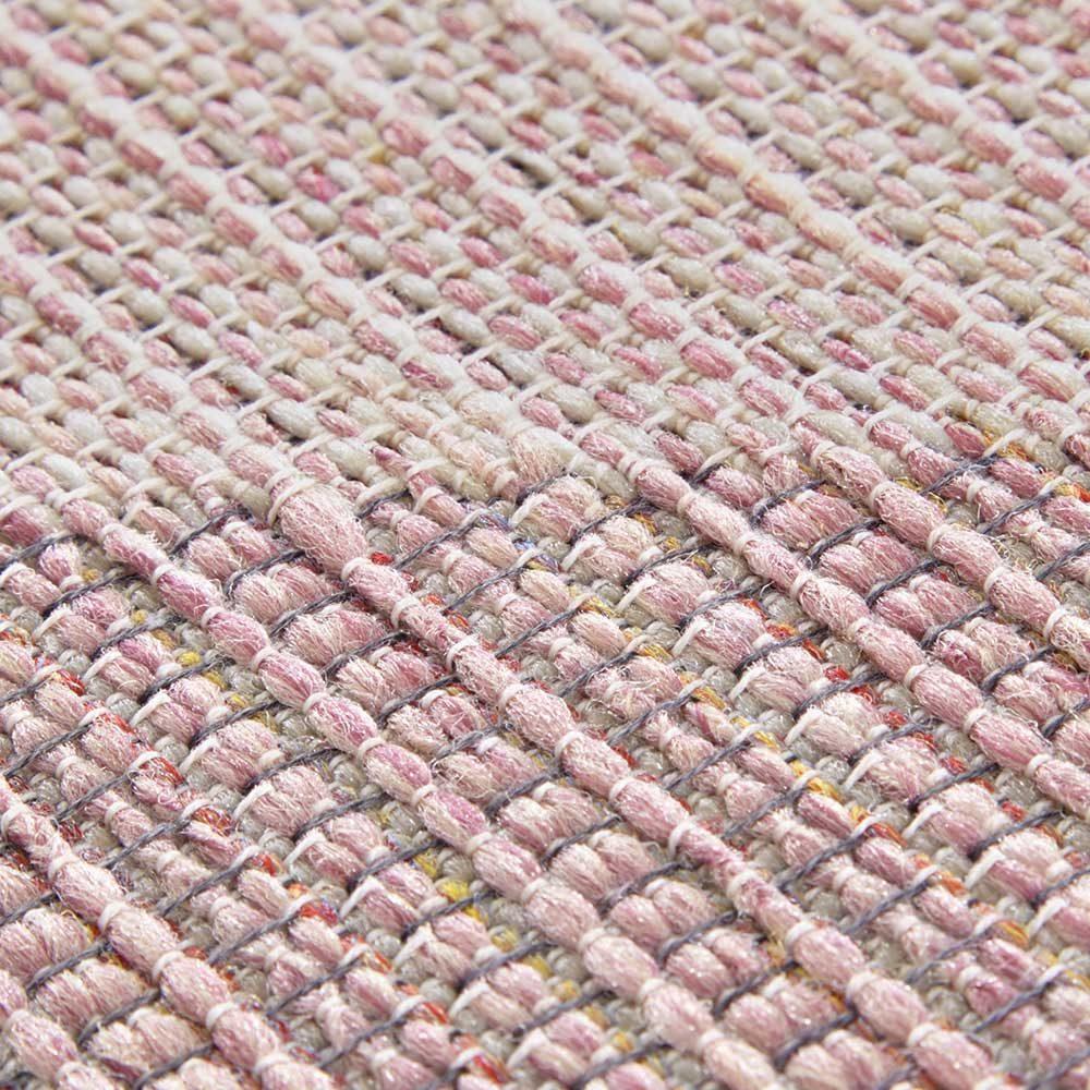 elle outdoor teppich dreieck rosa 5