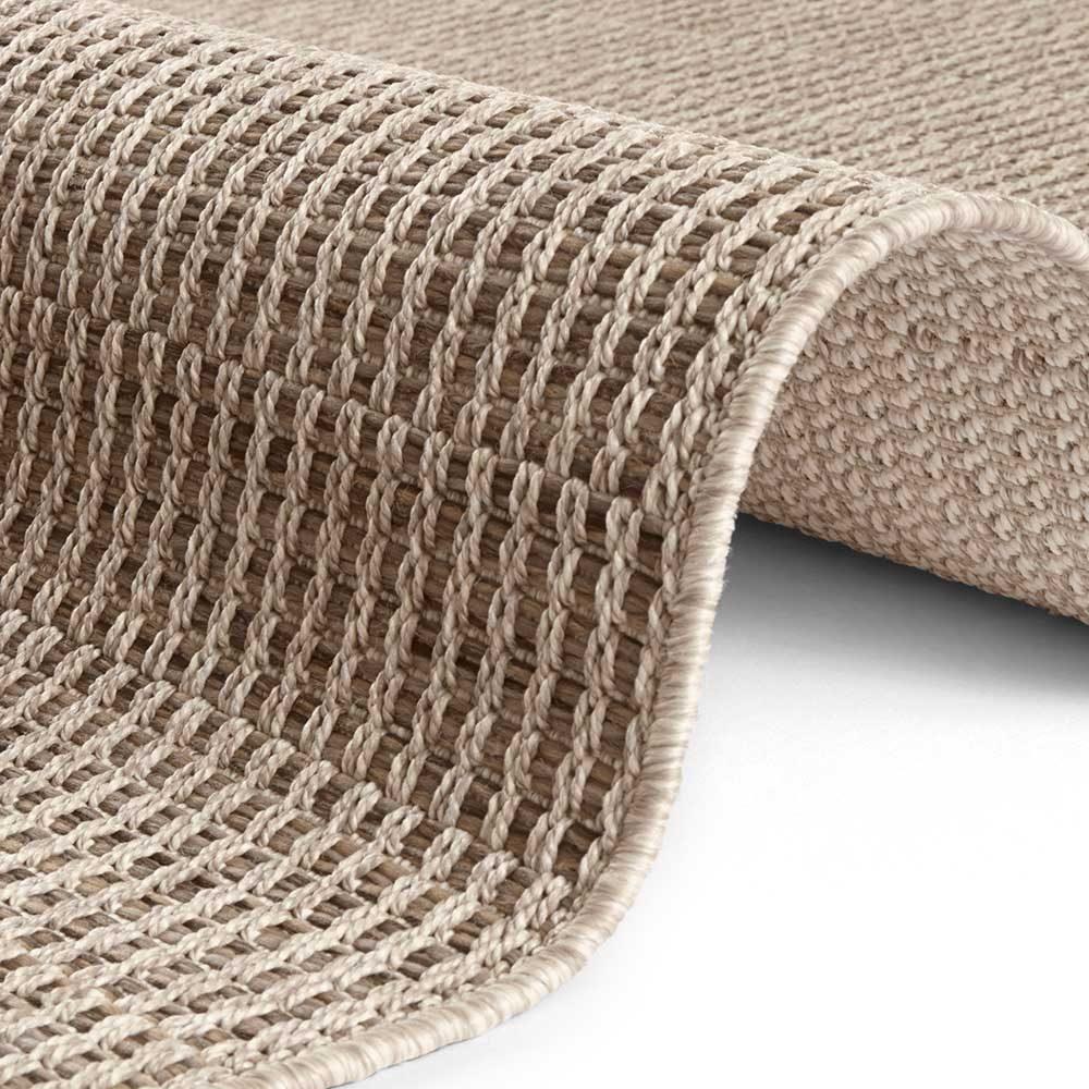 elle outdoor teppich handmade braun 4