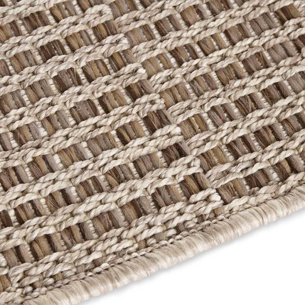 elle outdoor teppich handmade braun 5