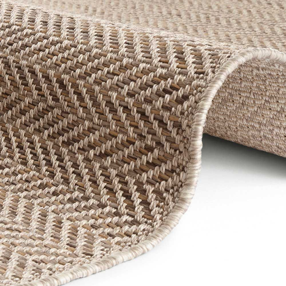 elle outdoor teppich handmade caen braun natur 4