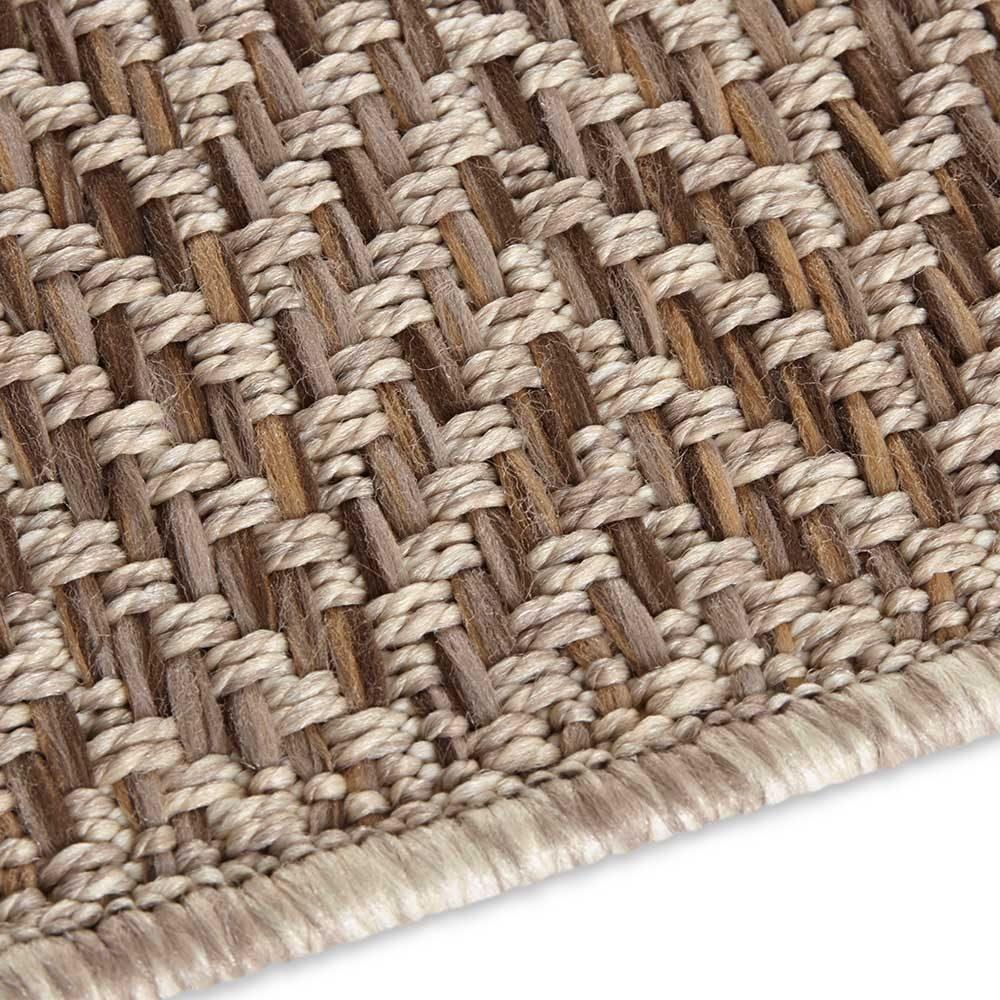 elle outdoor teppich handmade caen braun natur 5