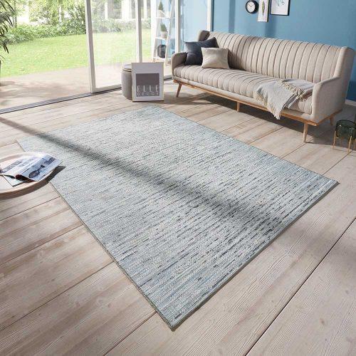 elle outdoor teppich meliert blau grau 1