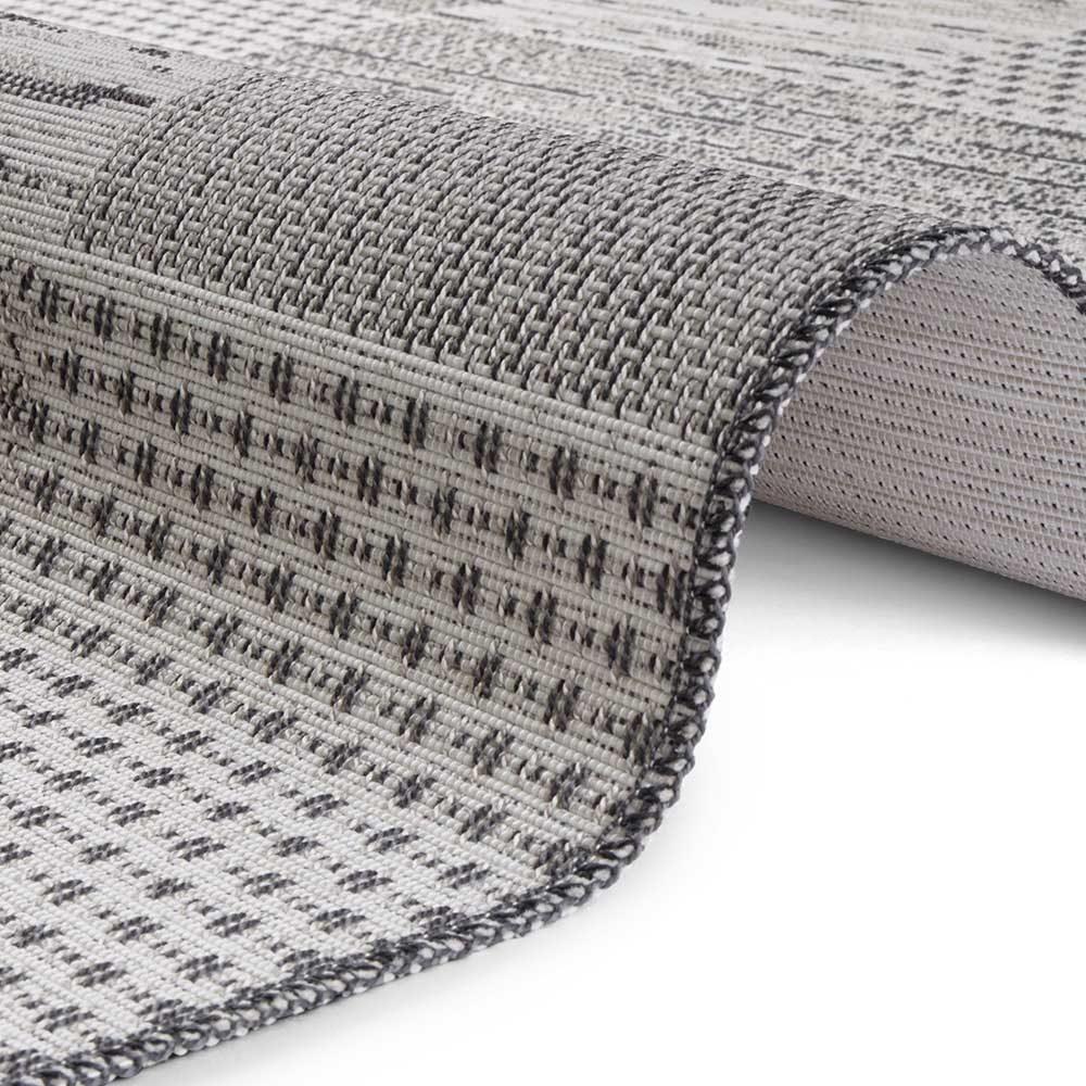elle outdoor teppich patchwork creme grau 4
