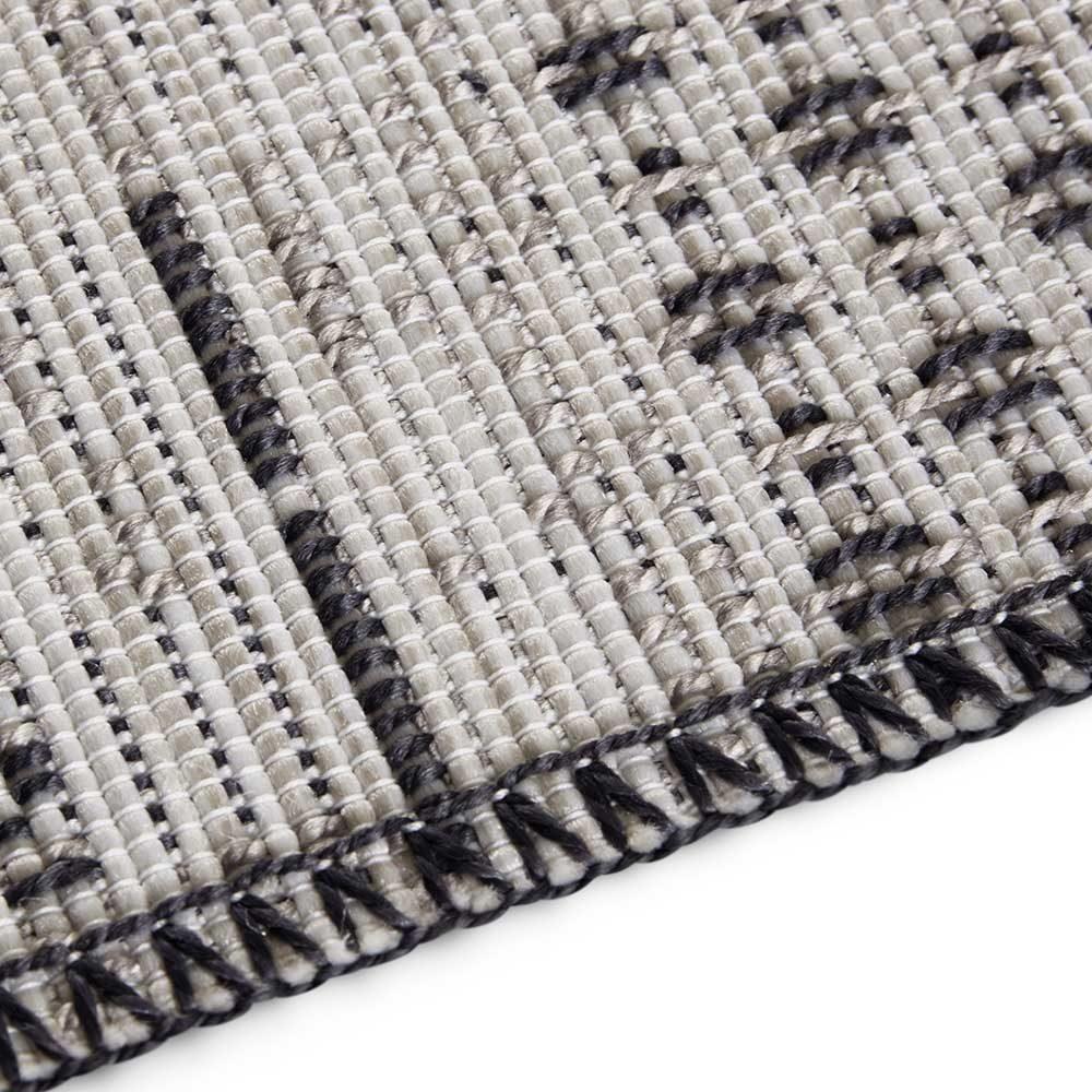 elle outdoor teppich patchwork creme grau 5