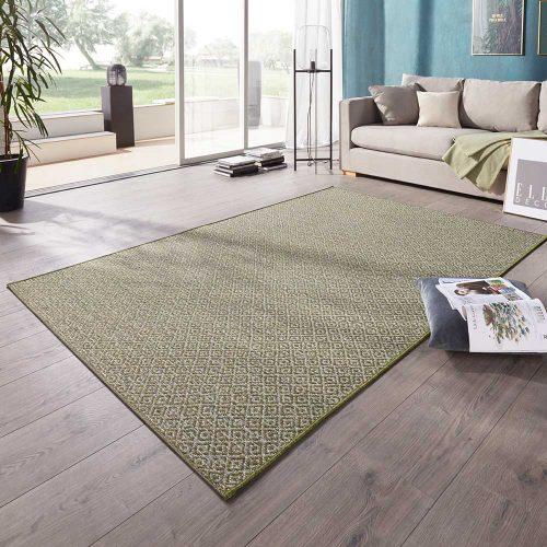 elle outdoor teppich raute grün 1
