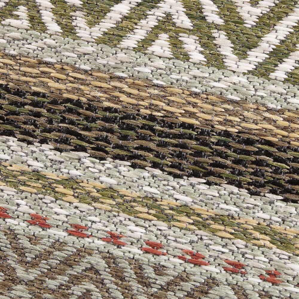 elle outdoor teppich streifen grün terra 5