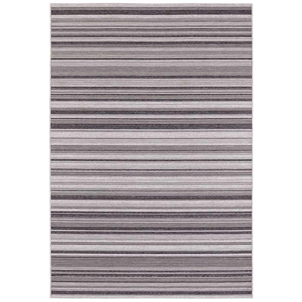 elle outdoor teppich streifen grau anthranzit 2