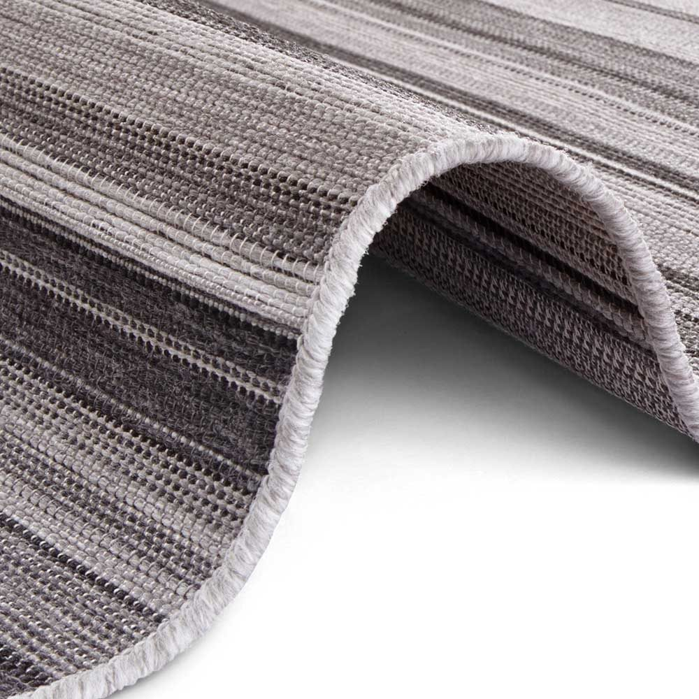 elle outdoor teppich streifen grau anthranzit 4