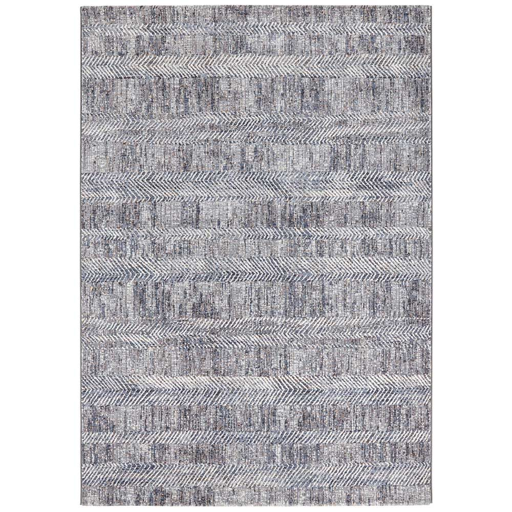 elle teppich handmade blau grau creme 2
