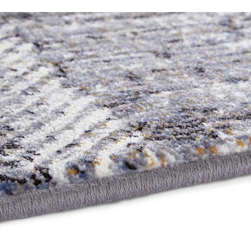 elle teppich handmade blau grau creme 5