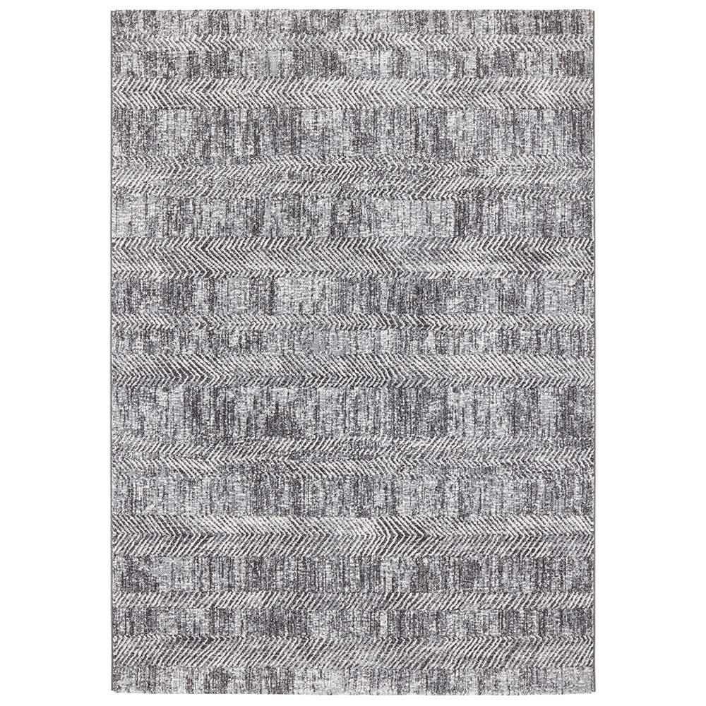 elle teppich handmade grau anthranzit 2