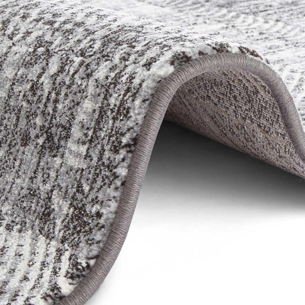 elle teppich handmade grau anthranzit 4