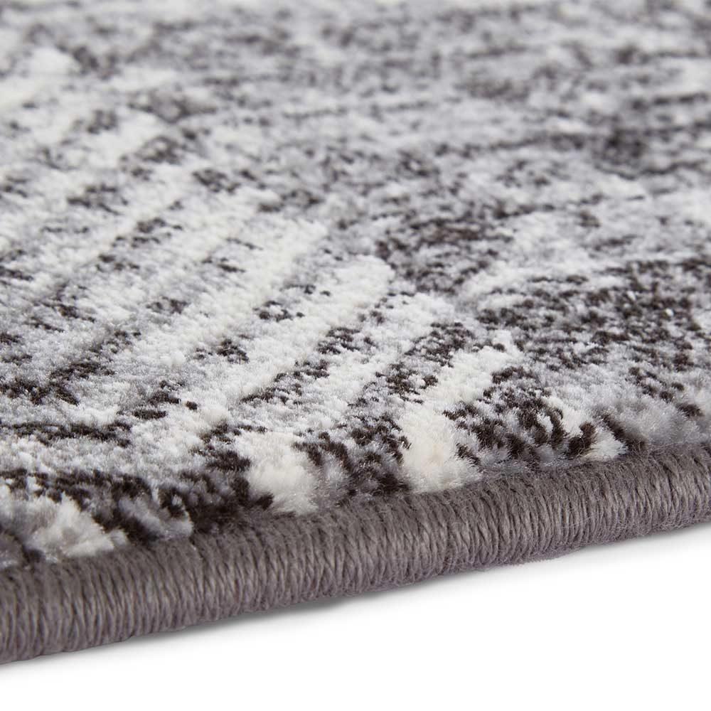 elle teppich handmade grau anthranzit 5