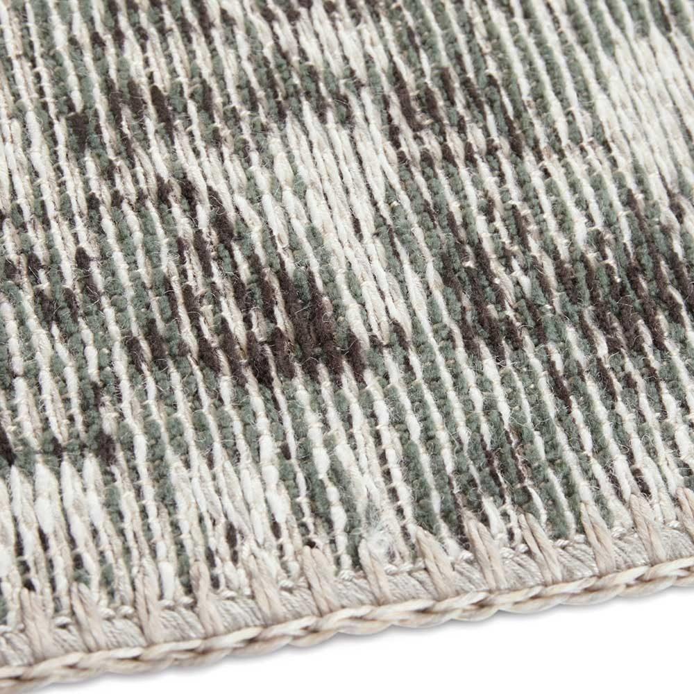 elle teppich handmade vertou grün 5