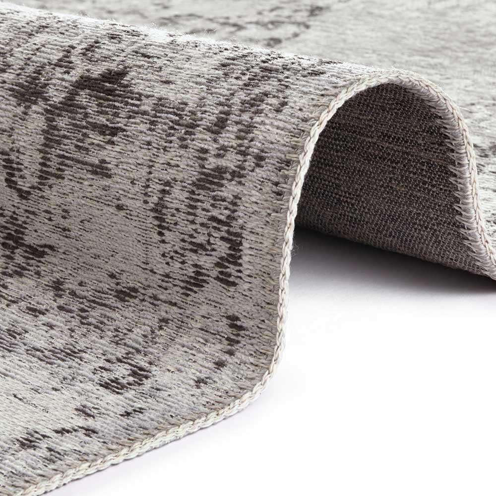 elle teppich handmade vertou grau 4