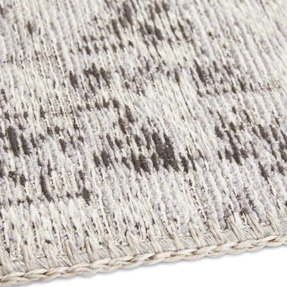 elle teppich handmade vertou grau 5