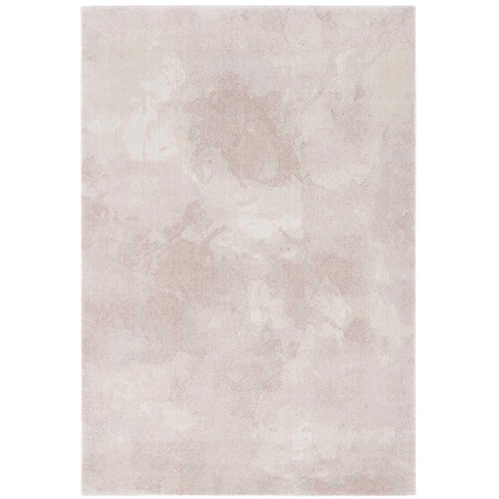 elle teppich marmor meliert rosa creme 2