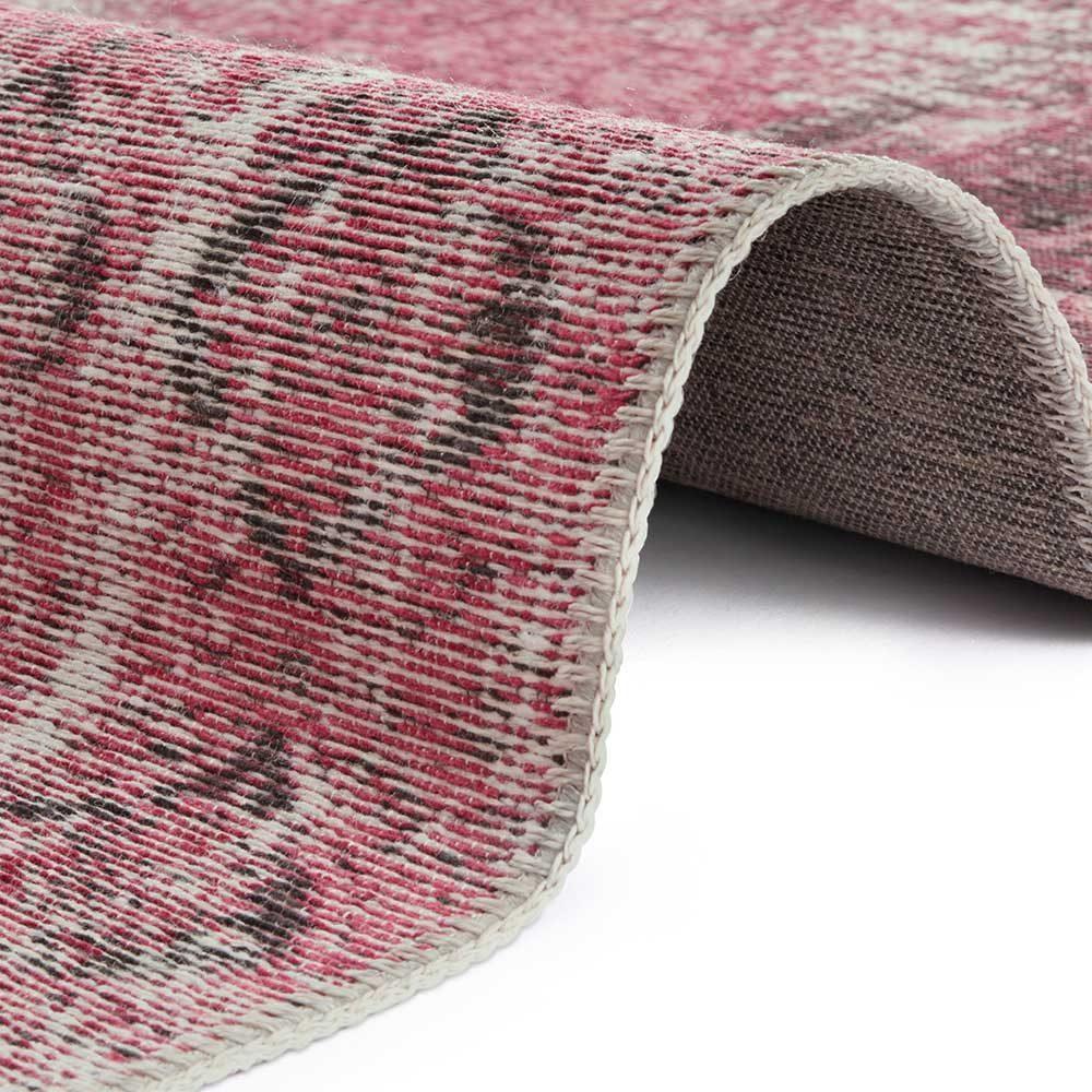 elle teppich patchwork pink 4