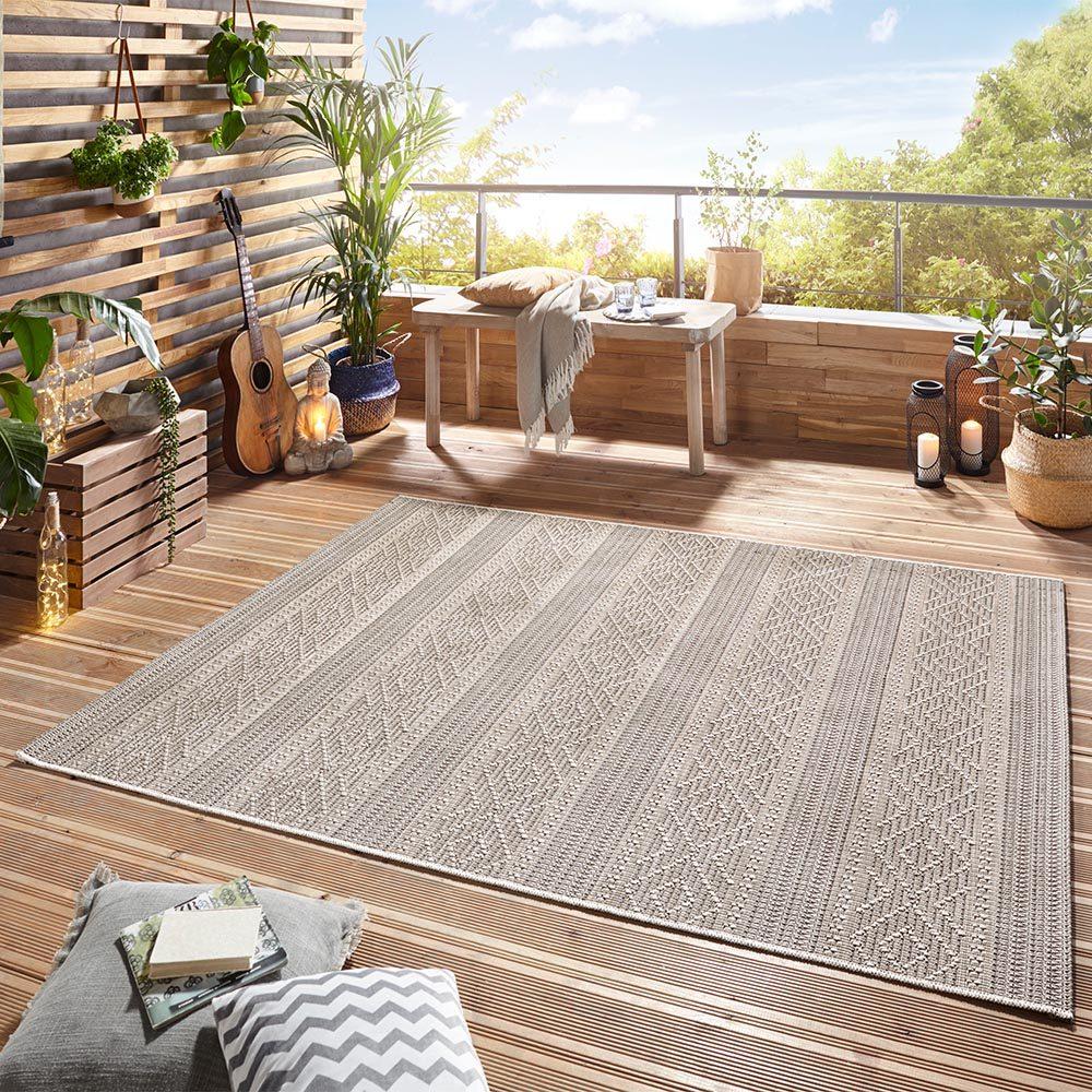 Elle Decor Outdoor Teppich Embrace 0024 103923 MIL