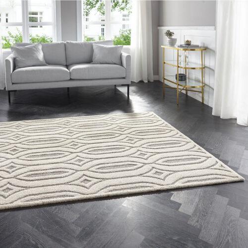Elle Decoration Kurzflor Teppich Lantian 0024 105090 MIL