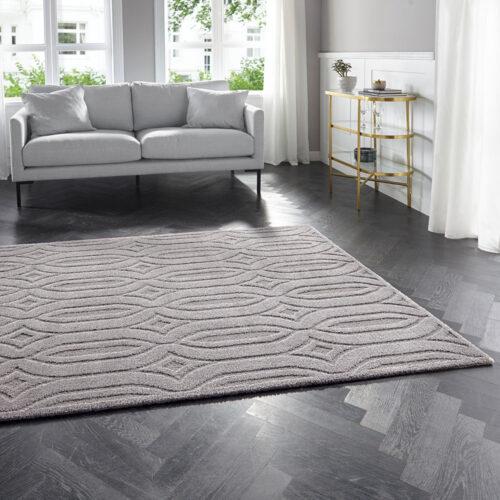 Elle Decoration Kurzflor Teppich Lantian 0028 105089 MIL